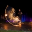 Seilspringen mit Feuerseil