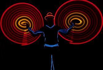 Illumination Show (Light Juggling)