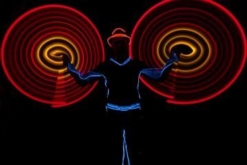 Illumination Show (Light Juggling)
