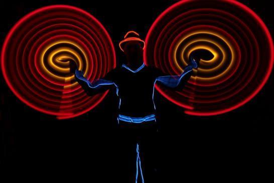 Leuchtshow – LED – Leuchtjonglage