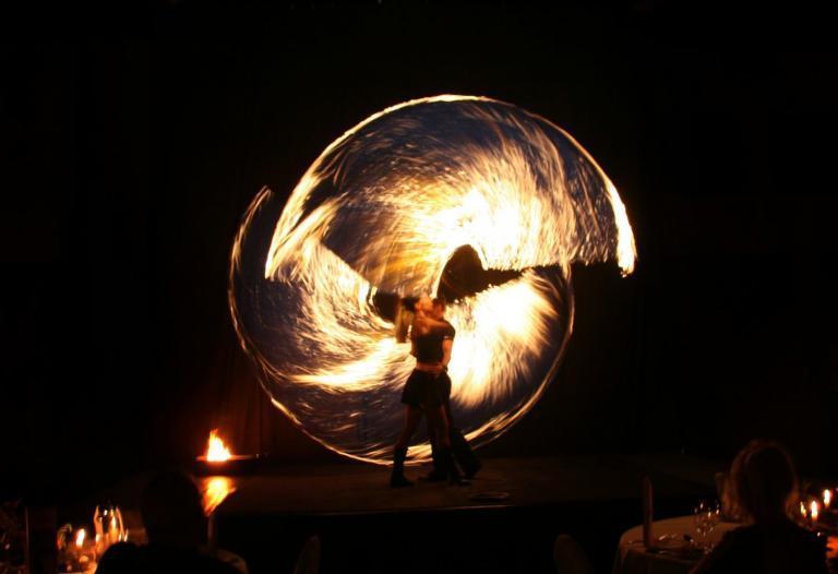 Duo-Feuershow
