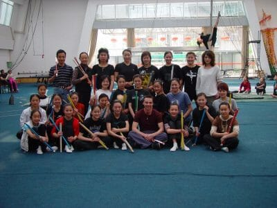 Jonglier Lehrer in China